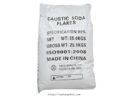 NaOH - Cautic soda Flakes 98 Phần Trăm